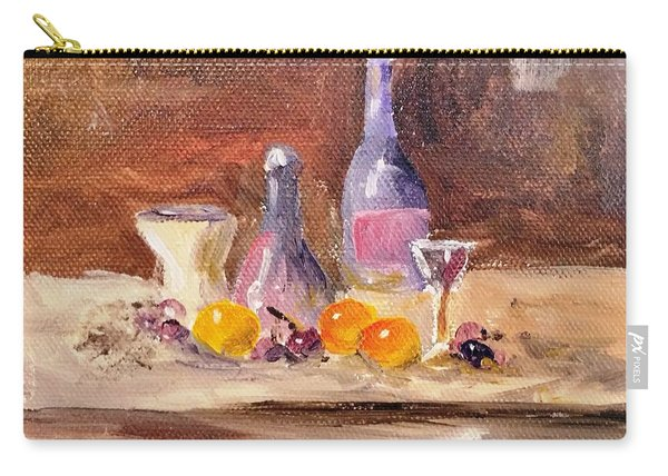 Small Still Life Carry-all Pouch
