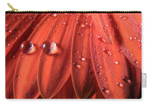 Small Water Drops Carry-all Pouch