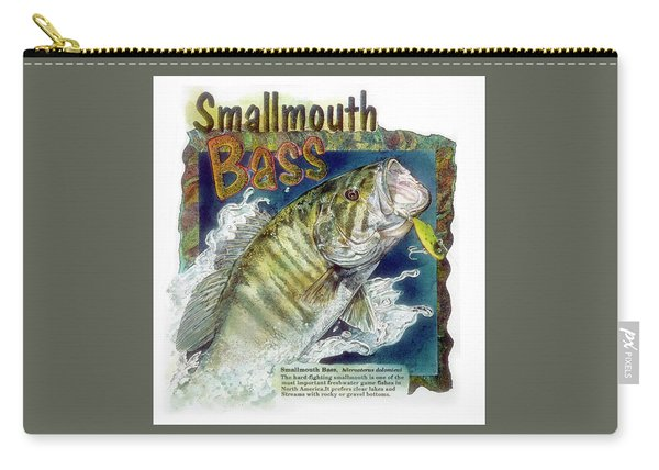 Smallmouth Bass Carry-all Pouch