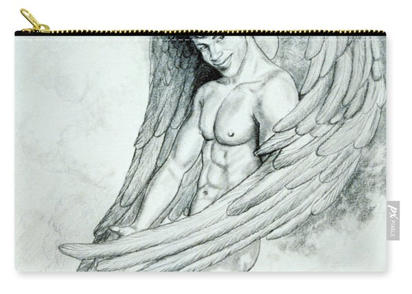 Smiling Angel Carry-all Pouch