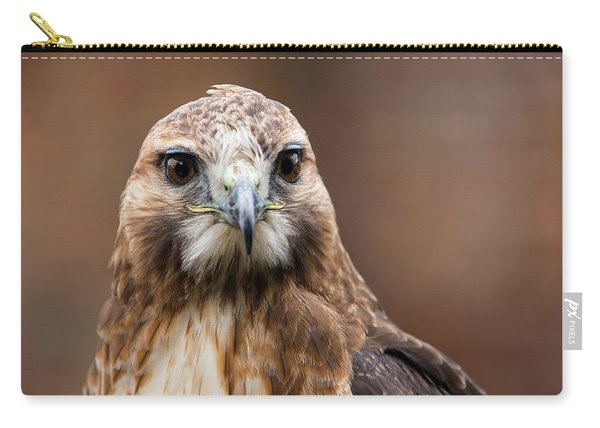 Smiling Bird Of Prey Carry-all Pouch