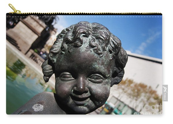Smiling Cherub Carry-all Pouch