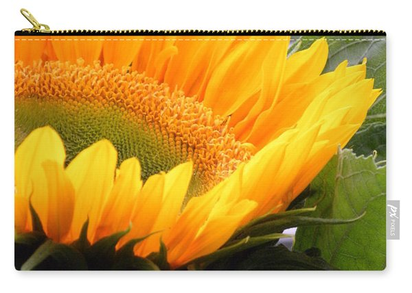 Smiling Flower Carry-all Pouch