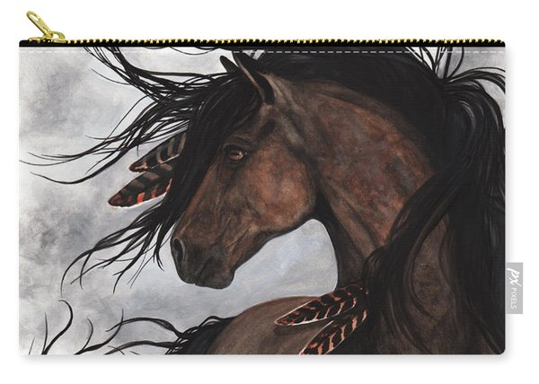 Smoke Majestic Horse Carry-all Pouch
