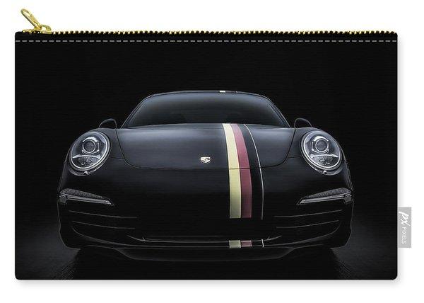 Black Porsche 911 Carry-all Pouch