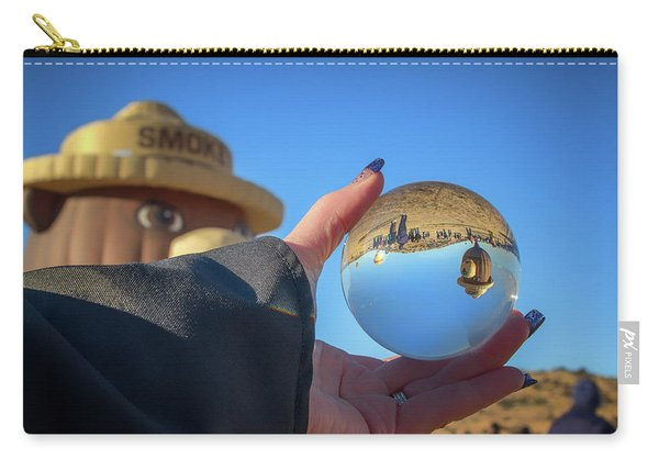 Smokey Bear Balloon In The Crystal Ball Carry-all Pouch
