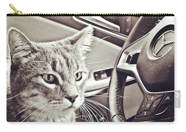Smokey Loves The Mercedes Cla Too! Carry-all Pouch