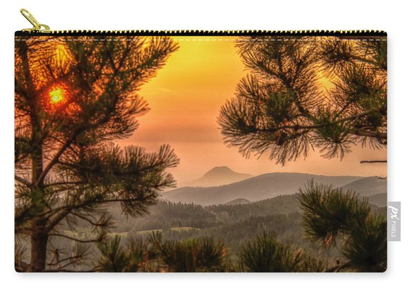 Smoky Black Hills Sunrise Carry-all Pouch