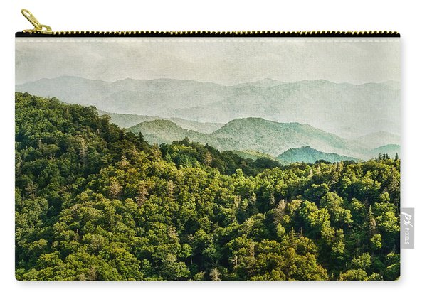 Smoky Mountain Reflections Carry-all Pouch