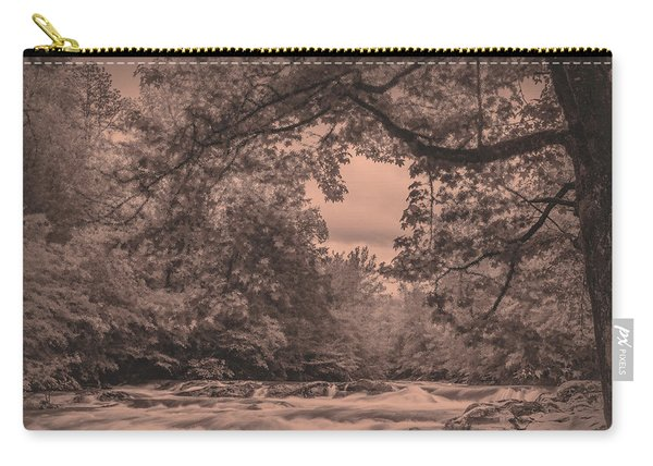 Smoky Mountain Stream Carry-all Pouch