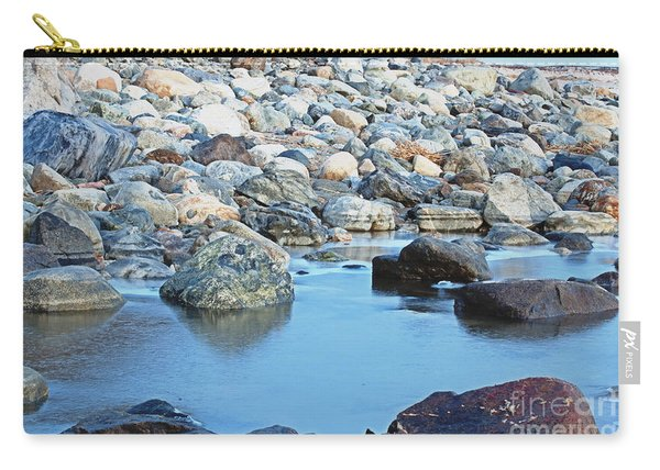 Smooth Rocks Carry-all Pouch