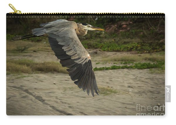 Smooth Sailing Wildlife Art By Kaylyn Franks Carry-all Pouch