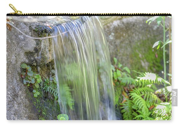 Carry-all Pouch featuring the photograph Smooth Water by Raphael Lopez