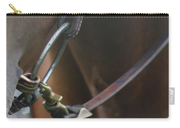 Snaffle Bit Carry-all Pouch