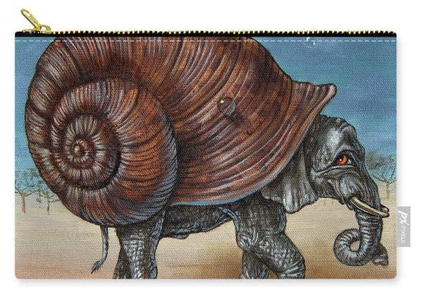 Snailephant Carry-all Pouch