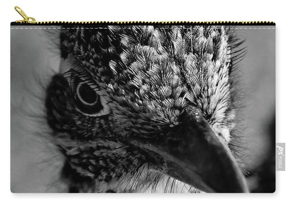 Snake Killer Black And White Carry-all Pouch