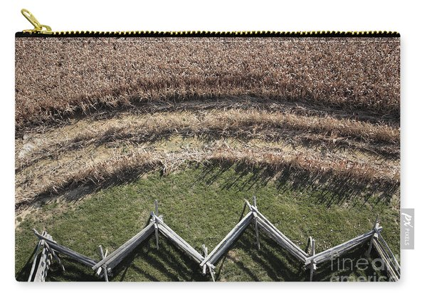 Snake-rail Fence And Cornfield Carry-all Pouch