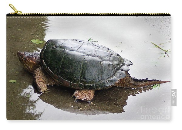 Snapping Turtle Carry-all Pouch