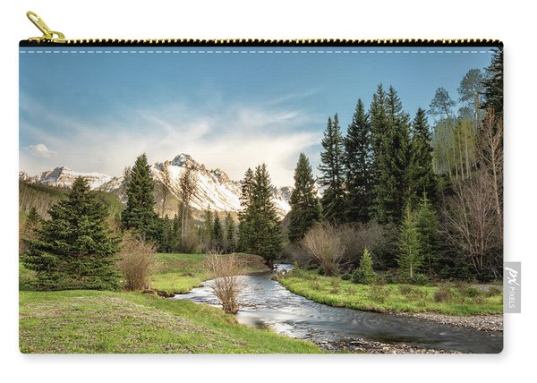 Sneffels And Spring Stream Carry-all Pouch