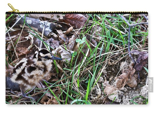 Snipe In Camouflage Carry-all Pouch