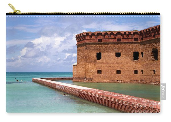 Snorkelers Fort Jefferson Carry-all Pouch