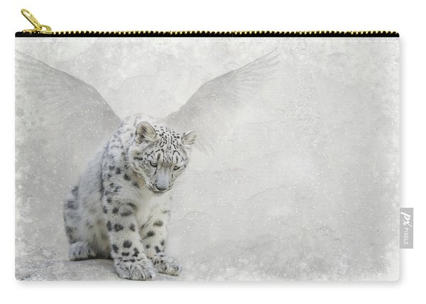 Snow Angel Carry-all Pouch