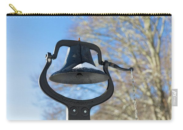 Snow Covered Bell Carry-all Pouch