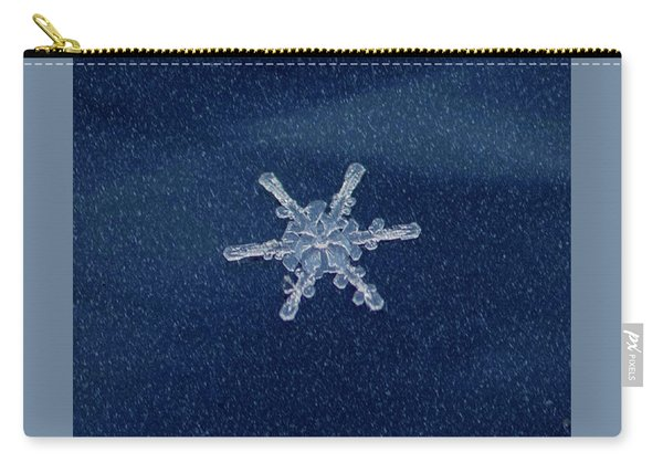 Snow Flake  Carry-all Pouch