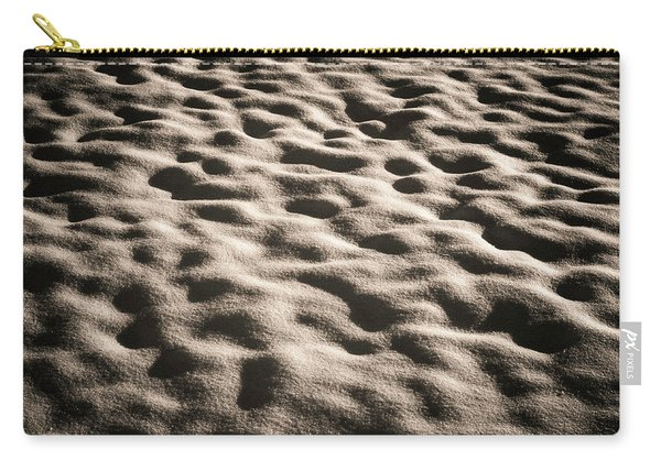 Snow Ground Wave. Carry-all Pouch
