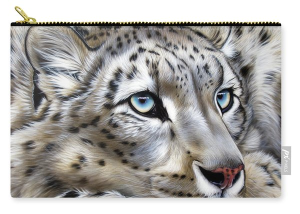 Snow-leopard's Dream Carry-all Pouch