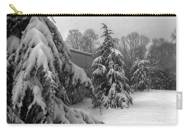 Snow On Pines Carry-all Pouch