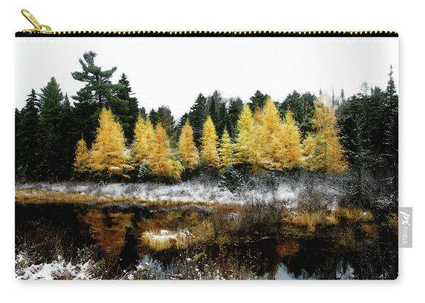 Snow Paints Larch Grove Carry-all Pouch