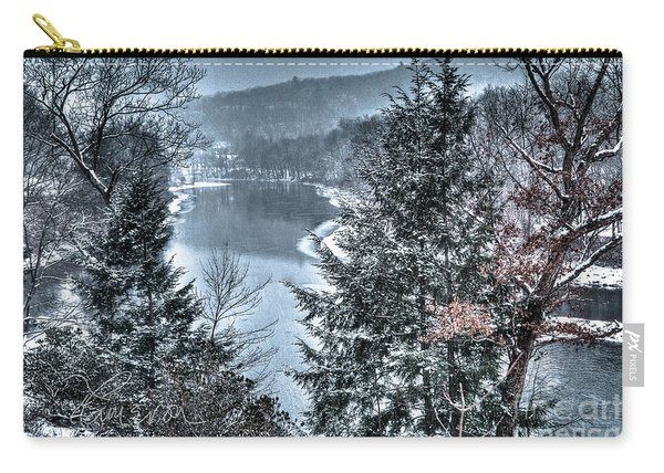 Snow Squall Carry-all Pouch