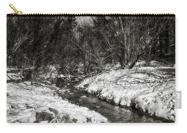 Snow Streams Carry-all Pouch