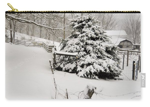 Snow Tree Carry-all Pouch