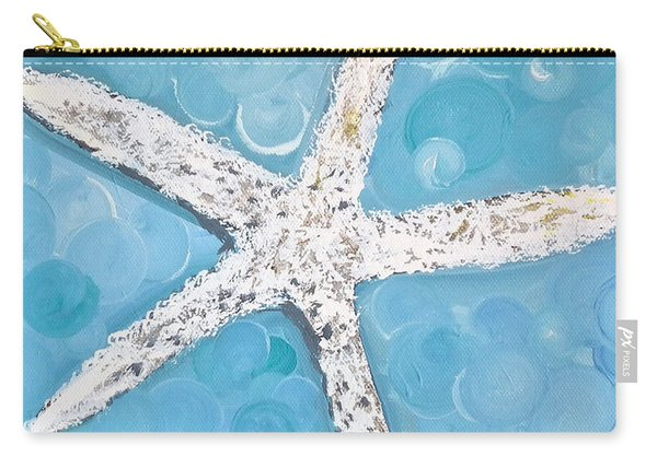 Snow White Starfish Carry-all Pouch