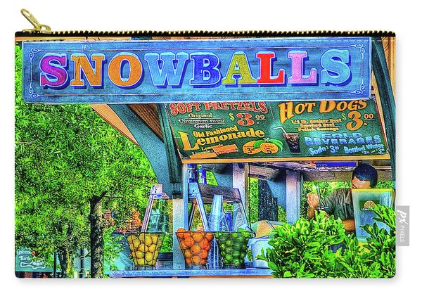 Snowballs And Lemonade Carry-all Pouch