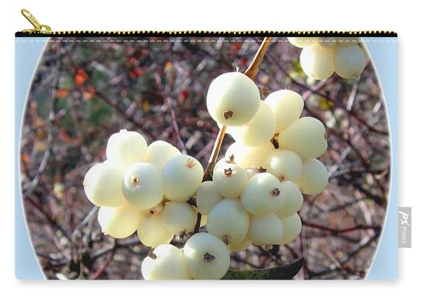 Snowberry Cluster Carry-all Pouch
