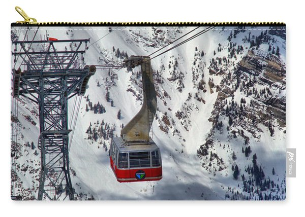 Snowbird Tram Portrait Carry-all Pouch