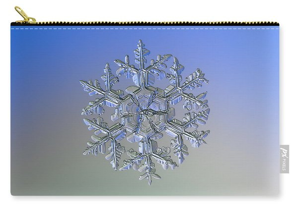 Snowflake Photo - Gardener's Dream Alternate Carry-all Pouch