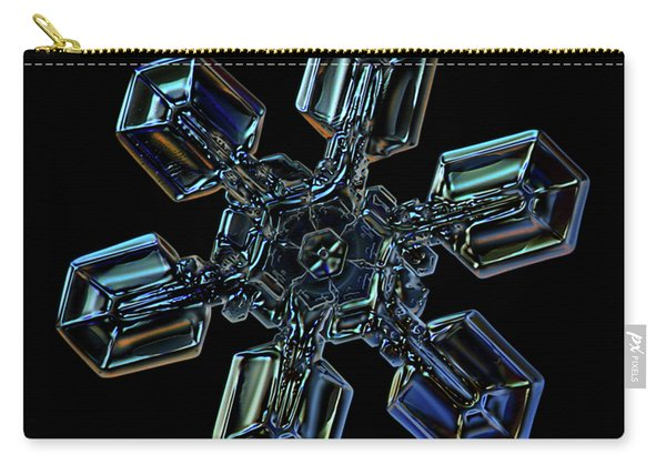 Snowflake Photo - High Voltage IIi Carry-all Pouch