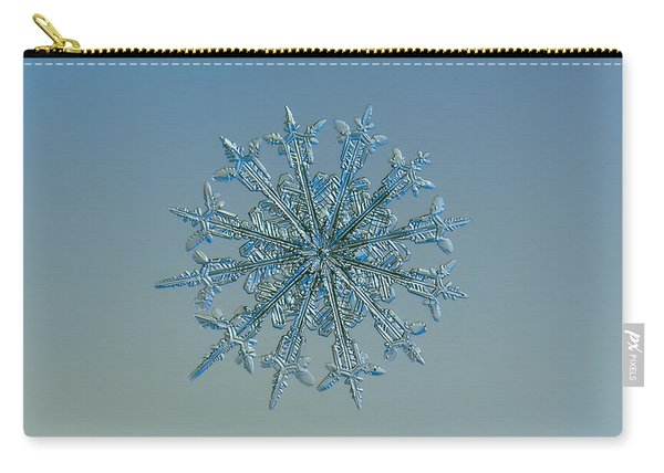 Snowflake Photo - Twelve Months Carry-all Pouch