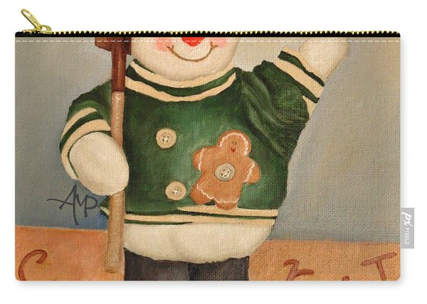 Snowman Junior Carry-all Pouch