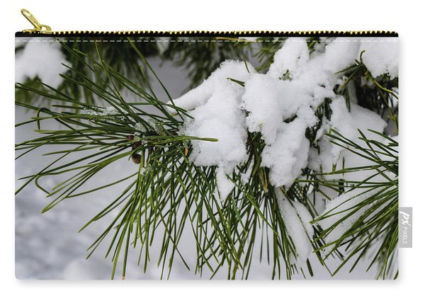 Snowy Branch Carry-all Pouch