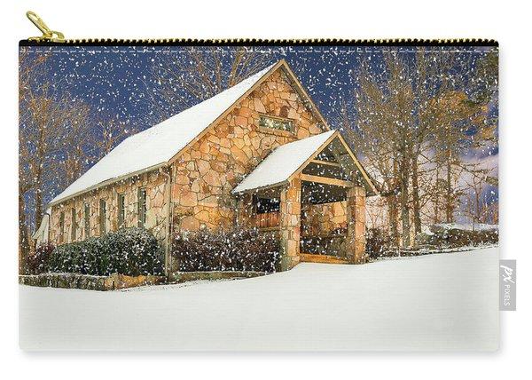 Snowy Cloudland Presbyterian Church  Carry-all Pouch