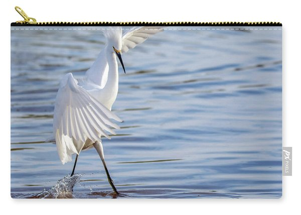 Snowy Egret 0322-111217-1cr Carry-all Pouch