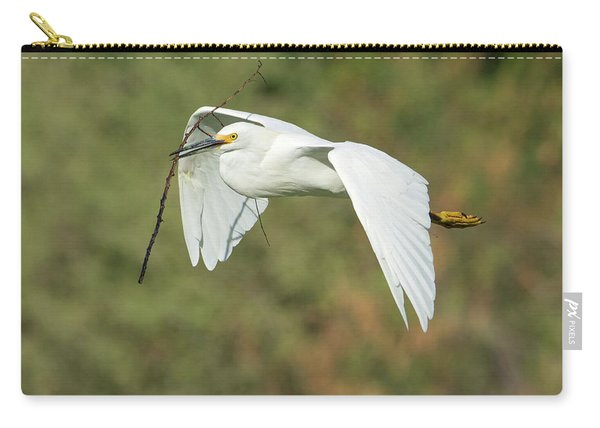 Snowy Egret 4786-091017-1cr Carry-all Pouch