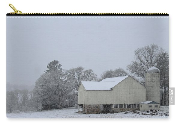 Winter White Farm Carry-all Pouch