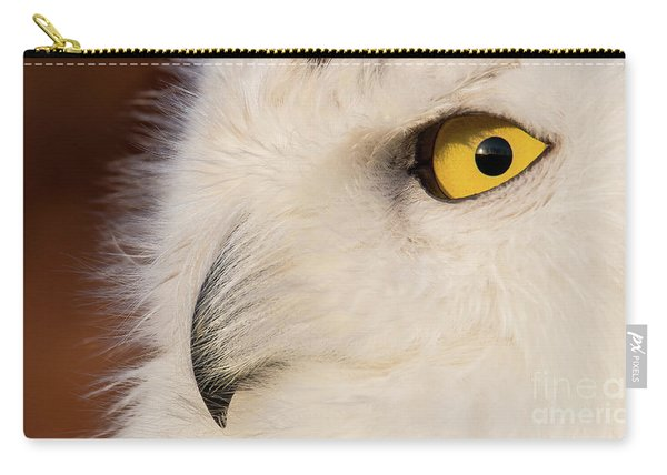 Snowy Owl Portrait Carry-all Pouch