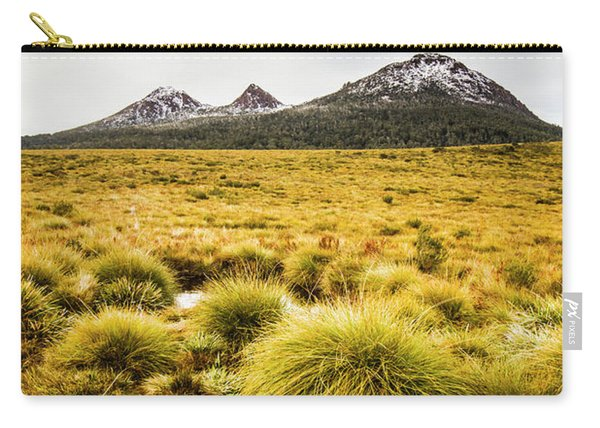 Snowy Tasmania Mountain Top Carry-all Pouch